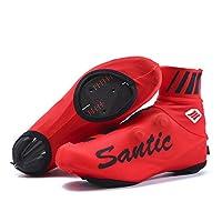Santic Cycling Overshoes Mens Cycling Shoe Covers Cycling Gaiters Cycle Overshoes MTB for Men and Women