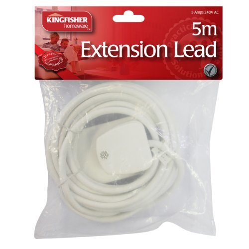 kingfisher-ec8-5-m-5-a-fused-plug-extension-cable-white