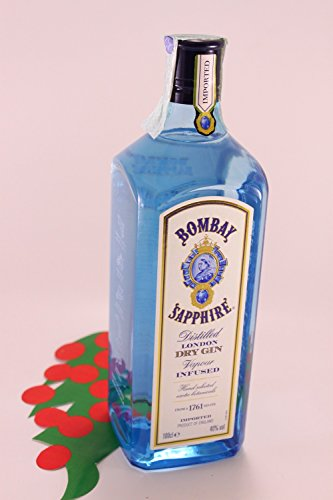 Bombay Sapphire Dry Gin 40 % 1 lt.