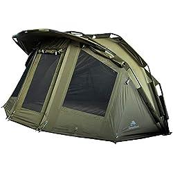 CampFeuer tente de peche à la carpe Storm I 2 place tente carpe I 2 Personnes Tente de pêche I avec colonne d'eau de 3000 mm I Imperméable