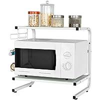 SoBuy®FRG092-W,Soporte para microondas, estante, estantería de cocina, miniestante,ES