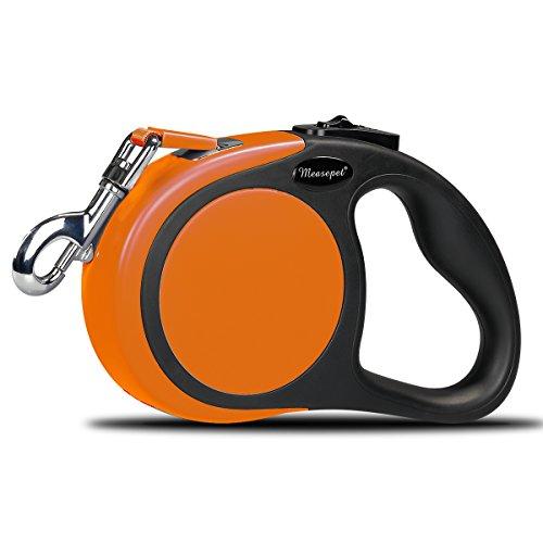 Garsum Roll-Leine einziehbare Hundeleine 5m Gurt für kleine,mittlere und große Hunde bis max 50kg (Seil Leine Gurt)