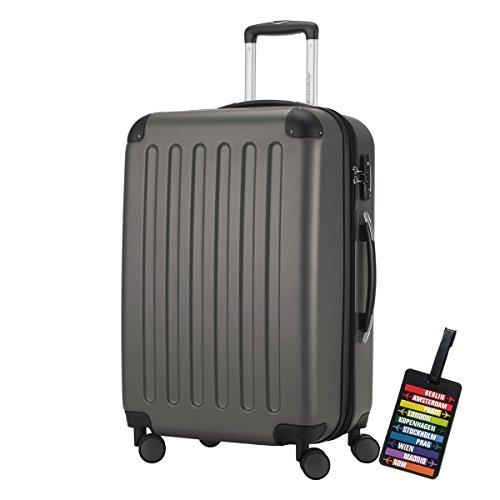 HAUPTSTADTKOFFER® Hartschalen Koffer SPREE 1203 · 3 Koffergrößen (49Liter · 82Liter · 128Liter) · MATT · TSA Zahlenschloss · + KOF...