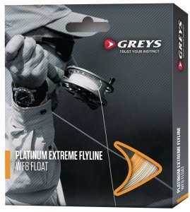 Greys Platinum Extreme Fliegenschnur -WF8 Intermediate