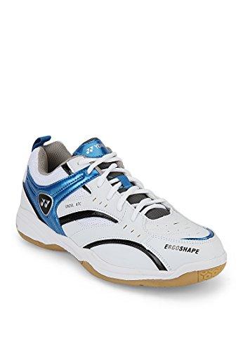 Yonex Excel 47C Badminton Shoes, UK 8 (White/Blue)