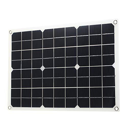 Decripción Un panel solar es un dispositivo que convierte la radiación solar directa o indirectamente en energía eléctrica al absorber la luz solar. En comparación con las baterías ordinarias y las recargables, los paneles solares ahorran más energía...