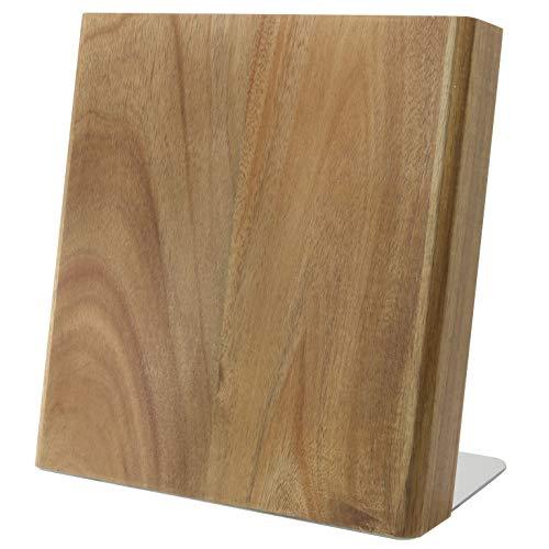 Coninx Quin Magnetischer Messerblock Holz | Messerblock Magnetisch Ohne Messer | Messerhalter Magnet...