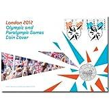 Londres 2012los Juegos Olímpicos y Paralímpicos definitiva moneda primer día cubierta sellos Souvenir