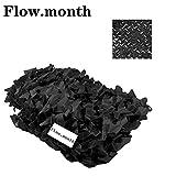 Flow.month Camo Netting voor Jacht Militaire Decoratie Zonnescherm Geweldig voor Zonneschaduw Camping Schieten Jacht