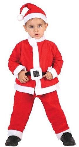 atosa-69211atosa-69211-disfraz Babbo Natale bambino infantil-talla Natale, colore rosso, 5A 6anni (69211)