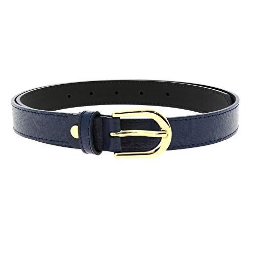 Fashiongen Cintura donna Vera Pelle italiana di alta qualità e duratura fatto ITALIA MELANIE
