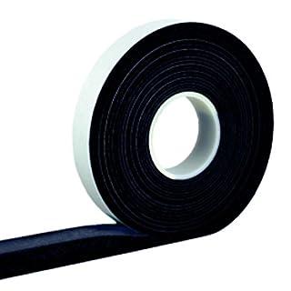 Kompriband 10/3 anthrazit, 10 m, Bandbreite 10 mm, expandiert von 3 auf ca. 15 mm