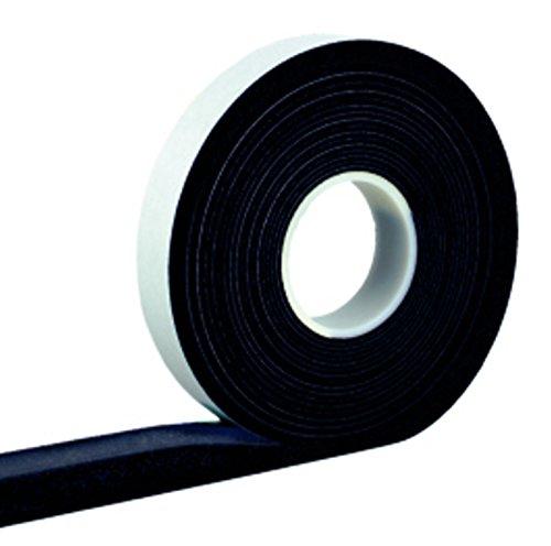 Kompriband 20/8 anthrazit 4,3 m Rolle, Bandbreite 20mm, expandiert von 8 auf 28mm, Fugendichtband, Komprimierband