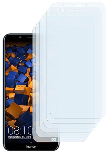 mumbi Schutzfolie kompatibel mit Huawei Honor 7C Folie klar, Bildschirmschutzfolie (6x)
