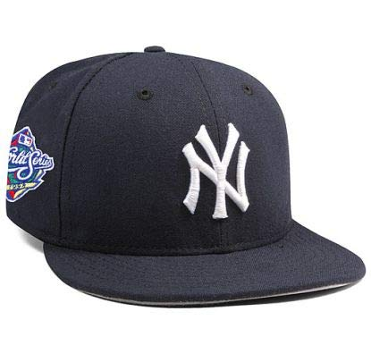 New York Yankees Mariano Rivera 1998 World Series Patch 59FIFTY Fitted Cap by New Era Size 6 7/8