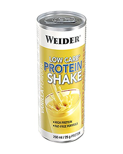 Weider Proteindrink Protein Shake, Vanille, 250 ml