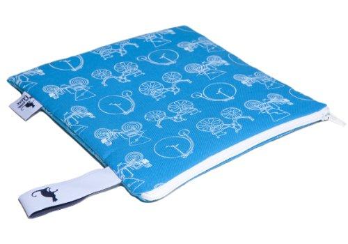 Mon Petit Bleu 5901323929861 Multi Use Bag - Multi-Funktions-Tasche - vielfach nutzbar, waschbar, wasserdicht und sogar lebensmittelecht - Muster Autos, Größe S (Wasserdichte Kosmetik-etui)