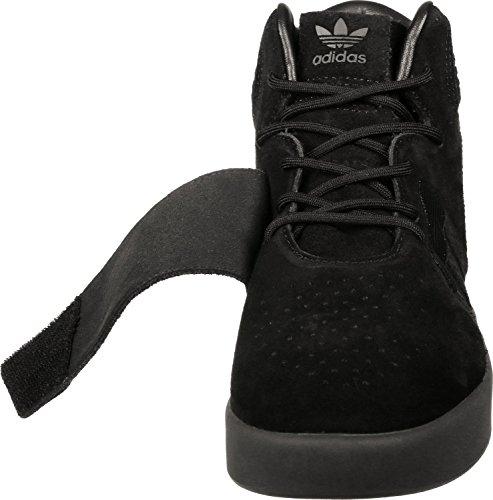 adidas Unisex-Erwachsene Tubular Invader Strap Hohe Sneaker, Beige Black/Black