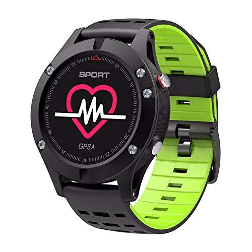 WMWMY Sport Smart Watch GPS Pulsmesser Wasserdicht Höhenmesser Barometer Bluetooth Edge Clock Für Ios Android, 3 (Casio Edge)