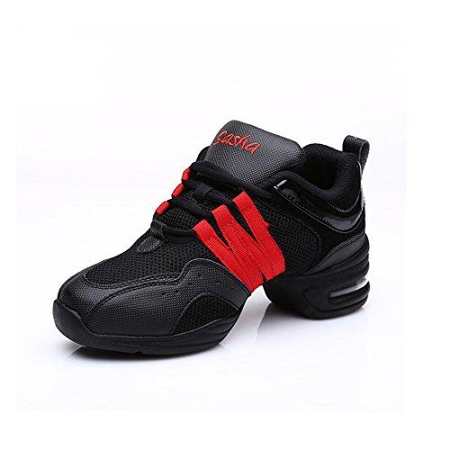 MQ , Chaussures de danse pour fille or doré red