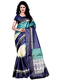 Trendz Style Raw Silk Saree Without Blouse Piece(1004_C)