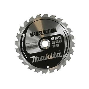 Makita B-08894 Makita B-08894 190mm Stationary Saw Blade 190 x 20 x 24T 1 Silver
