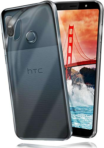 moex HTC U12 Life | Hülle Silikon Transparent Klar Clear Back-Cover TPU Schutzhülle Dünn Handyhülle für HTC U12 Life Case Ultra-Slim Silikonhülle Rückseite