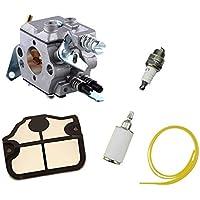 Blesiya Carburatore Linea Filtro Carburante Aria Ricambio Chainsaw Parts Per Husqvarna 36 41 136 137 141 142 - Trova i prezzi più bassi