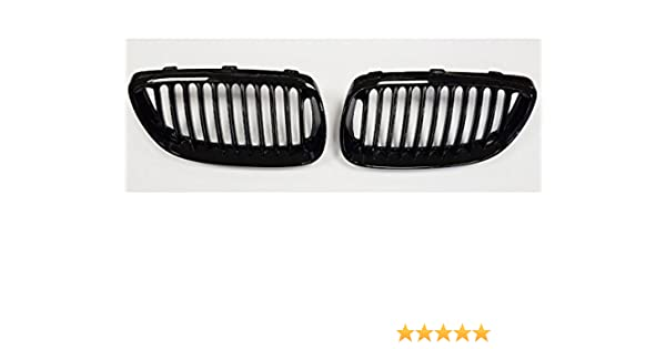 E92 E93 3 Series Coupe Cab Kidney Grill Grille Gloss Black 2006-2010 Sport