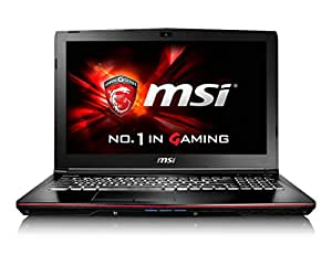 "MSI GE62 6QC Apache-643IT 9S7-16J532-643 Gaming Notebook, Processore i7-6700HQ, Display 15.6"" FHD, Scheda Video GTX 960M 2GB GDDR5, RAM DDR4 8GB, HDD 1TB 7200rpm"