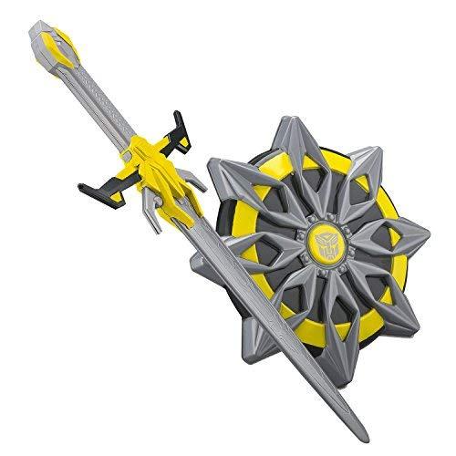 eKids TF-502BB Transformers Bumblebee Schwert und Schuld Spielset für Kinder, Gelb (Jungen Bumblebee Transformer Kostüm)