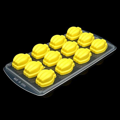 DIY Silikon Eiswürfelform,Rifuli® Silikon-Eiswürfel-Gelee-Schokoladen-Frucht-Kuchen DIY Form-Form-Behälter-Pudding Eiswuerfel Mit Deckel Eisformen(LFGB Zertifiziert)