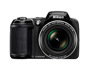 Nikon Coolpix L340 Camera - Black (20 MP, 28x Optical Zoom) 3-Inch LCD