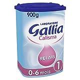 Laboratoire Gallia Calisma - Lait bébé Relais 1er âge en poudre de 0 à 6 mois 900 g
