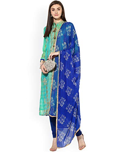 Monika Silk Mill Women\'s latest Green Color Chanderi Cotton Embroidered Festival Collection Casual wear Party wear Dress material Salwar Suit