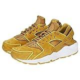 NIKE Damen WMNS Air Huarache Run PRM Sneakers, Mehrfarbig Muted Bronze/Wheat Gold 001, 42.5 EU