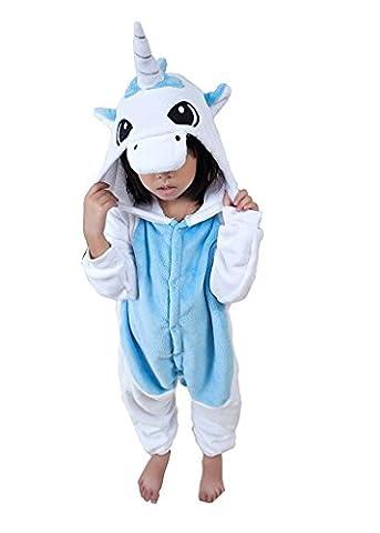 Costumes Bon Marché Halloween Pour Les Costumes Adolescente - Cliont Enfants animaux Licorne Pyjamas Kigurumi Costume