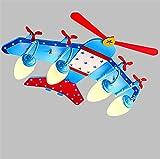 brightllt het slaapkamer moderne LED-Boys Cartoon vliegtuigen verlichting zomer kinderen kamer kamer Plafond lampen voor kinderen 1100 * 940 mm