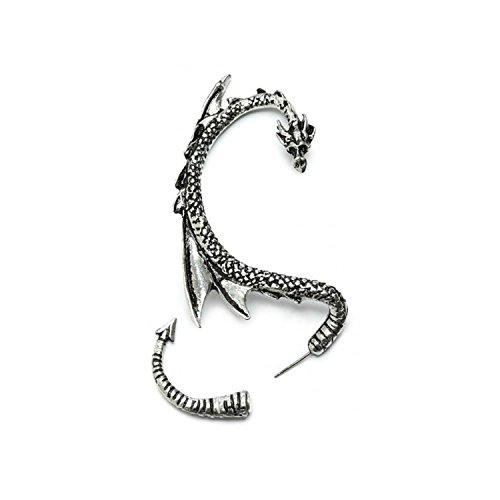 rstecker mit Silbertönung by Serebra Jewelry (Rechtes Ohr) ()