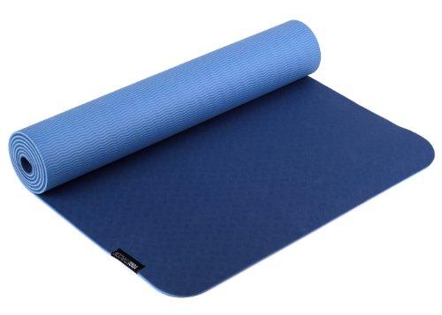 Yogistar Yogamatte Pro - sehr rutschfest - Blue
