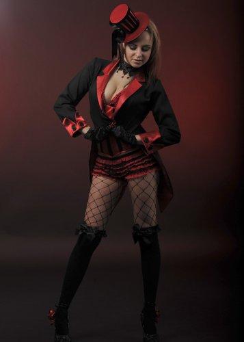 Kostüm Burlesque Tänzerin - Magic Box Int. Damen Burlesque Tänzerin Petite Frack