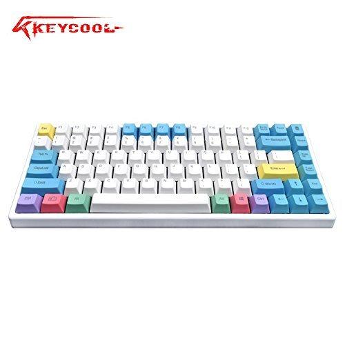 Keycool Hero 842018Edition Mechanische Tastatur Cherry MX Switches Mini Gaming 84Schlüssel Tastatur Cherry MX Blue