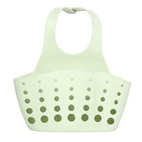 Stale Home Küche Hängen Drain Bag Korb Bad Aufbewahrungswerkzeuge Waschbecken Halter Tragbare Küche Lagerhalter Haushalt Seifenregal Green