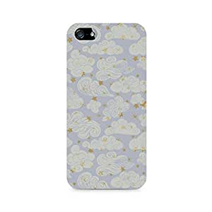 Rayite Vintage Clouds Premium Printed Case For Apple iPhone 5/5s