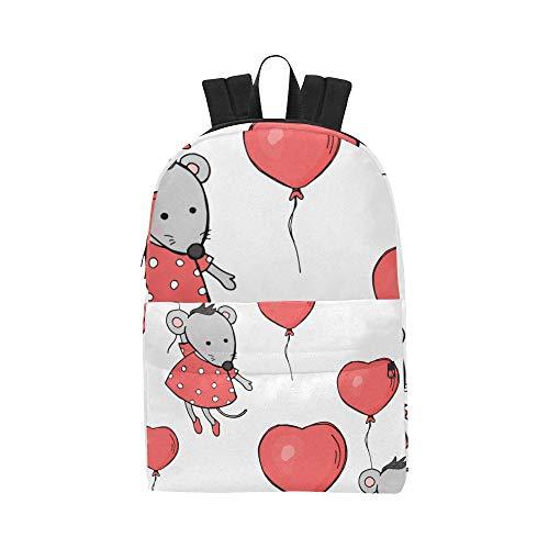 llons Klassische Wasserdichte Daypack Reisetaschen Kausale College School Rucksäcke Rucksäcke Bookbag Für Kinder Frauen Männer ()