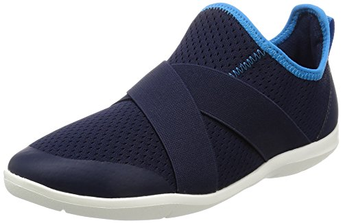 Crocs Swiftwater X-strap, Sabots femme bleu (Sea/Blue/White /Strap)