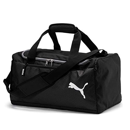 210784daf Puma Fundamentals Sports Bag, Unisex Adulto, Black, OSFA