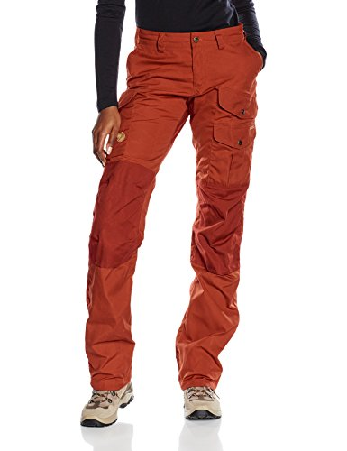 Fjällräven Damen Hose Barents Pro, Deep Red, 44