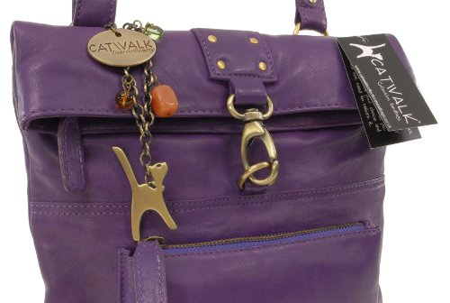 Catwalk Collection Handbags, Borse tascapane, Donna - Viola