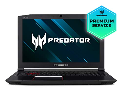 "Acer Predator PH315 Helios 300 - Ordenador portátil de 15.6"" Full HD (Intel Core i7-8750H, 8GB RAM + 16GB Intel Optane, 1TB HDD, Nvidia GeForce GTX 1060 6GB, Windows 10) negro - Teclado QWERTY Español"